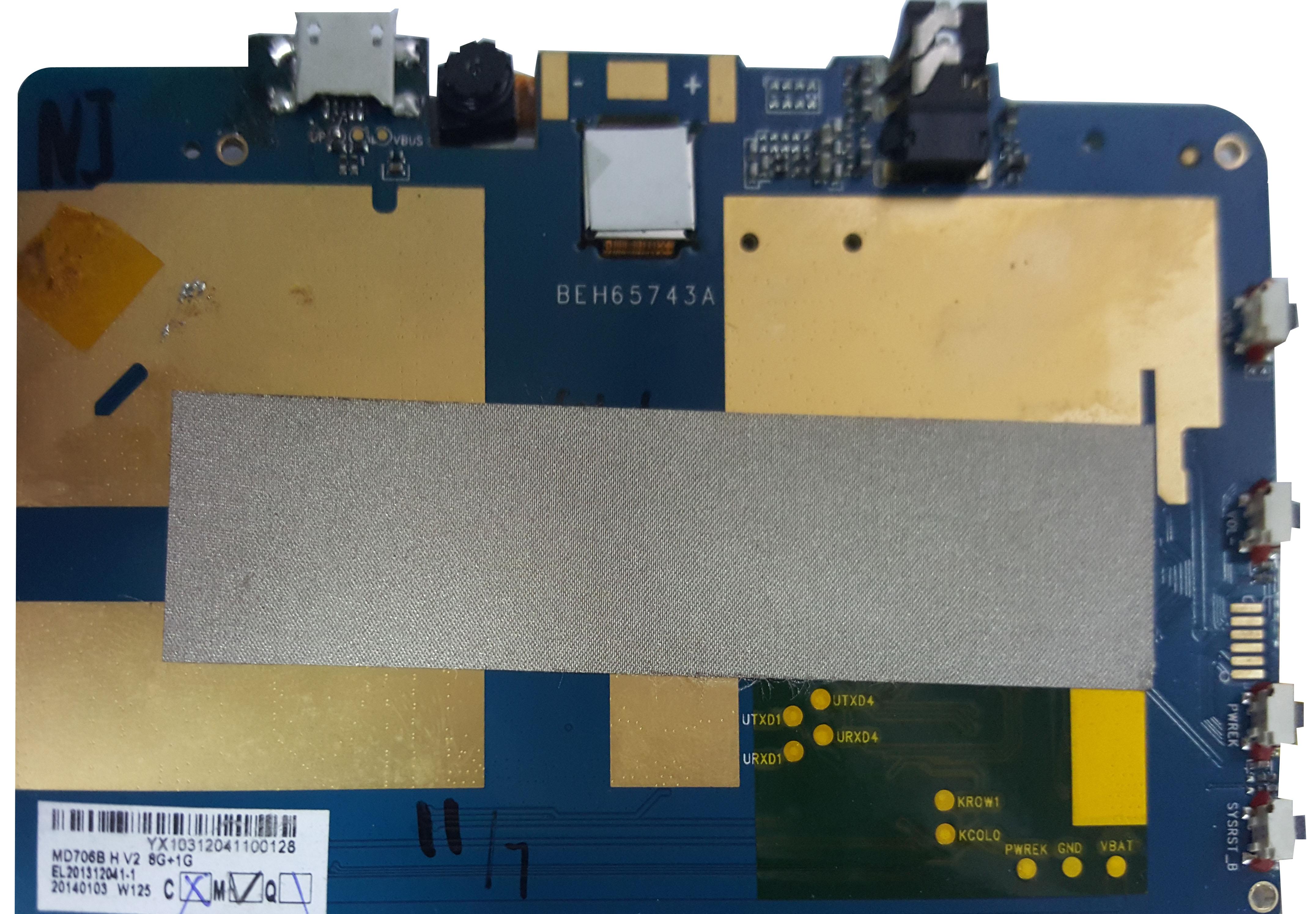 Firmware Tablet ZIF T722G (2013) Stock ROM Firmware