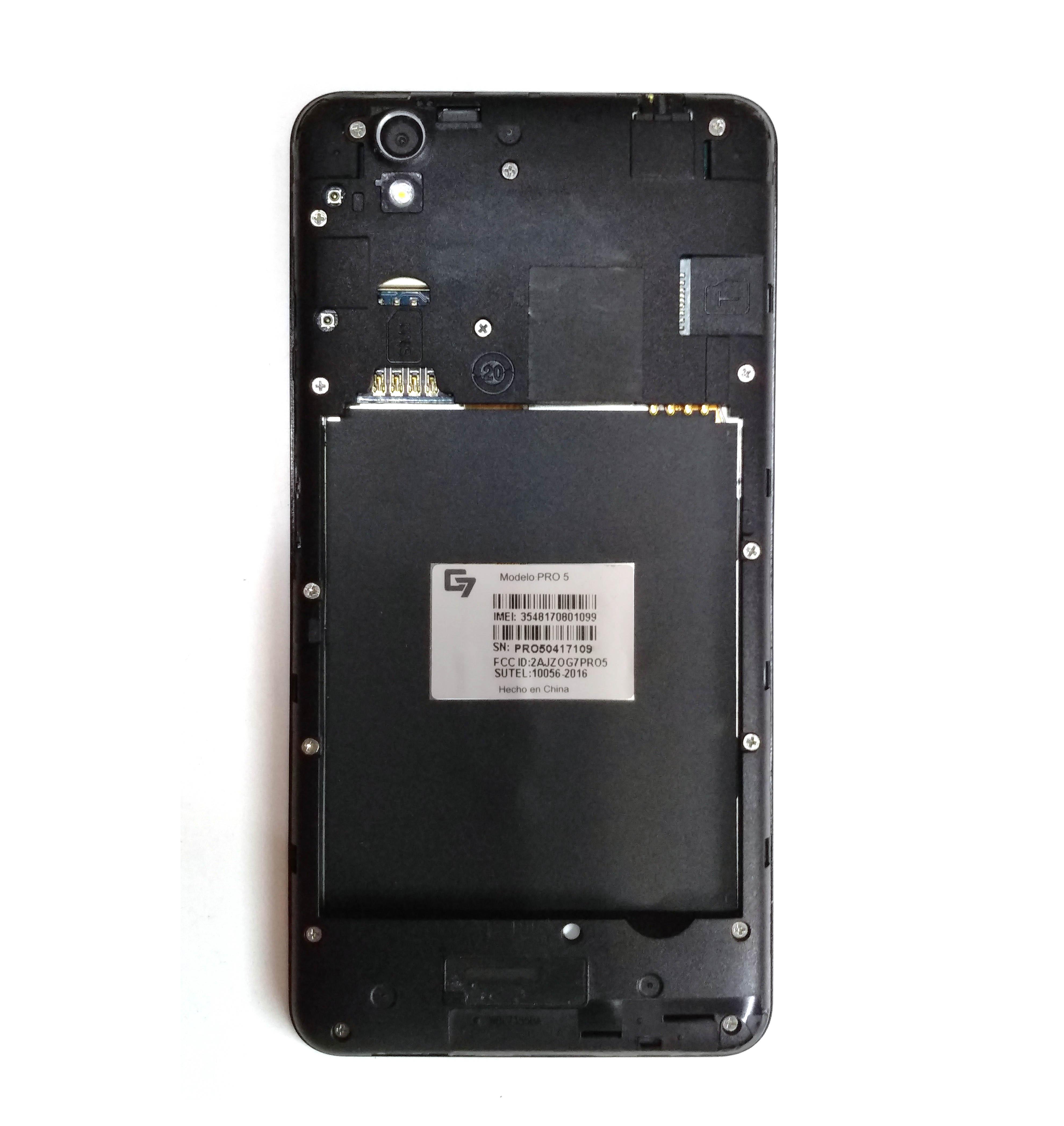 Firmware ROM G7 Pro 5 MTK MT6735 6 0 - Stock ROM